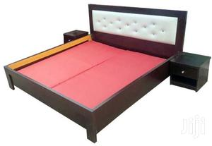 Available Bed Frame,,,6x6 With 2 Bed Side Drawer | Furniture for sale in Lagos State, Ojo