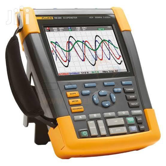 Fluke Scopemeter 190-204/S Portable Digital Oscilloscope | Measuring & Layout Tools for sale in Alimosho, Lagos State, Nigeria