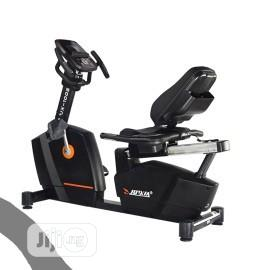 JX - S1002 Commercial Recumbent Bike | Sports Equipment for sale in Rivers State, Port-Harcourt