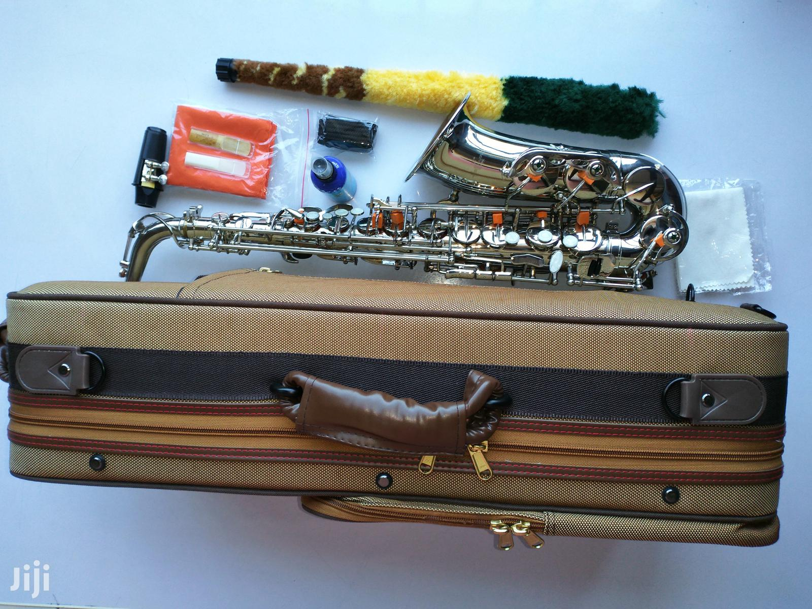 Hallmark-uk High Quality Alto Saxophone(Silver)   Musical Instruments & Gear for sale in Ojo, Lagos State, Nigeria