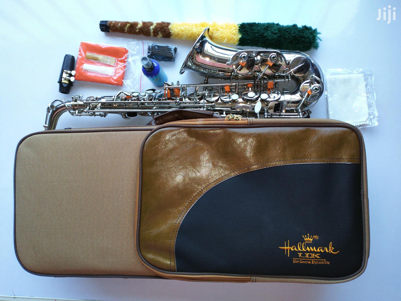 Hallmark-uk High Quality Alto Saxophone(Silver)