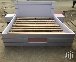 Bed Frame 6x6 With 2 Bed Side Drawer | Furniture for sale in Lagos State, Shomolu