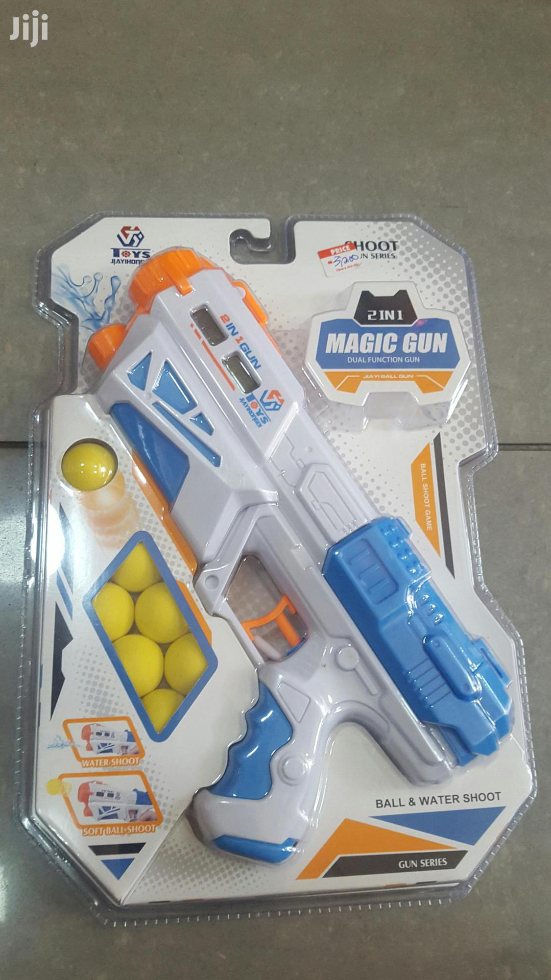 2 In 1 Water And Ball Gun