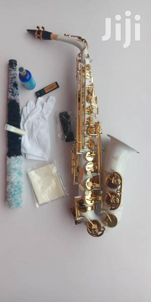 Hallmark-uk High Quality Alto Saxophone (White)   Musical Instruments & Gear for sale in Lagos State