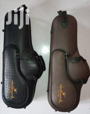 Hallmark-uk High Quality Alto Saxophone Leather Case   Musical Instruments & Gear for sale in Lagos State