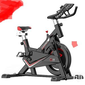 Bodyfit Spinning Bike Commercial With Complete Spin Wheel | Sports Equipment for sale in Rivers State, Port-Harcourt