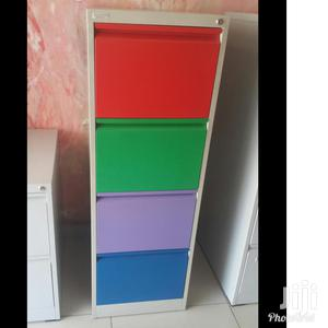 Imported Quality Colourful Metal 4 Drawer Cabinet   Furniture for sale in Lagos State, Lekki