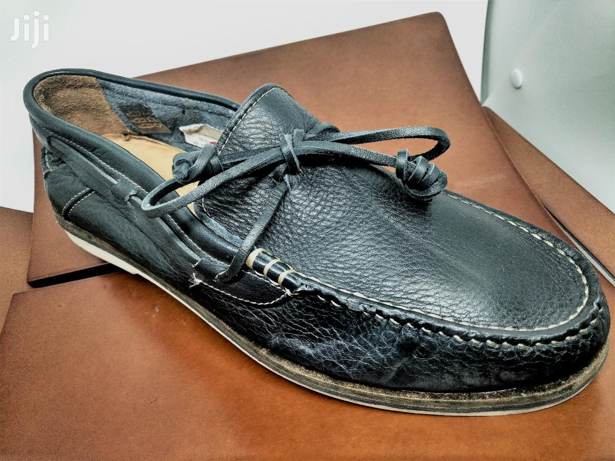 Archive: Massimo Dutti Leather Dockers
