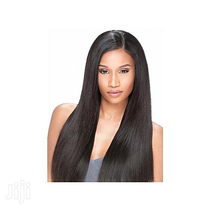 22 Inches Straight Wig With Centre-Parting