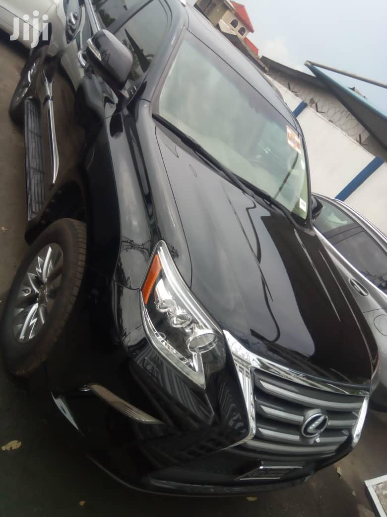 Lexus GX 2016 Black