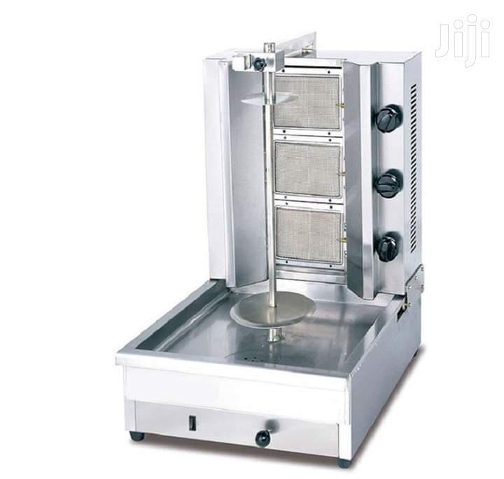 3 Burner Gas Shawarma Machine