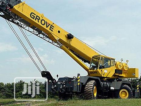 Archive: Crane And Escavator For Hiring At Port Harcourt
