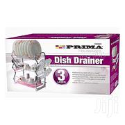 Prima Exquisite 3tier Dish Drainer Removable | Kitchen & Dining for sale in Lagos State, Lagos Island