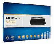 Linksys E2500 N600 Dual Band Wi-Fi Wireless Router | Networking Products for sale in Lagos State, Ikeja