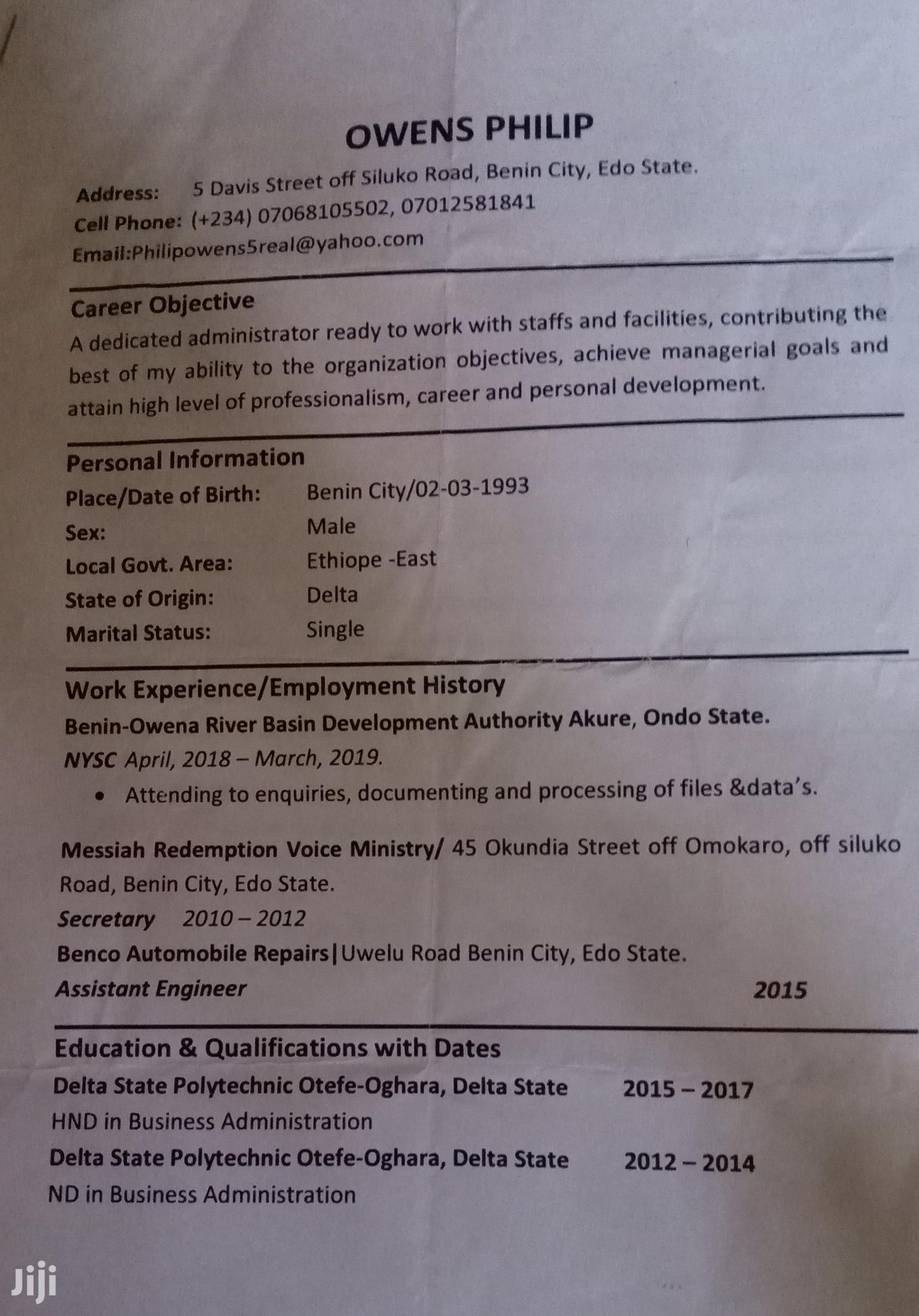 Brand Ambassadors CV