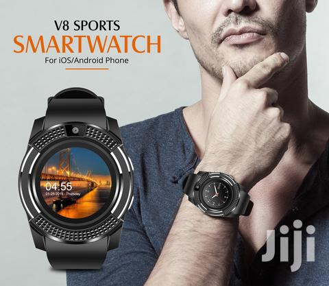 Android Smart Watch V8 | Smart Watches & Trackers for sale in Ikeja, Lagos State, Nigeria