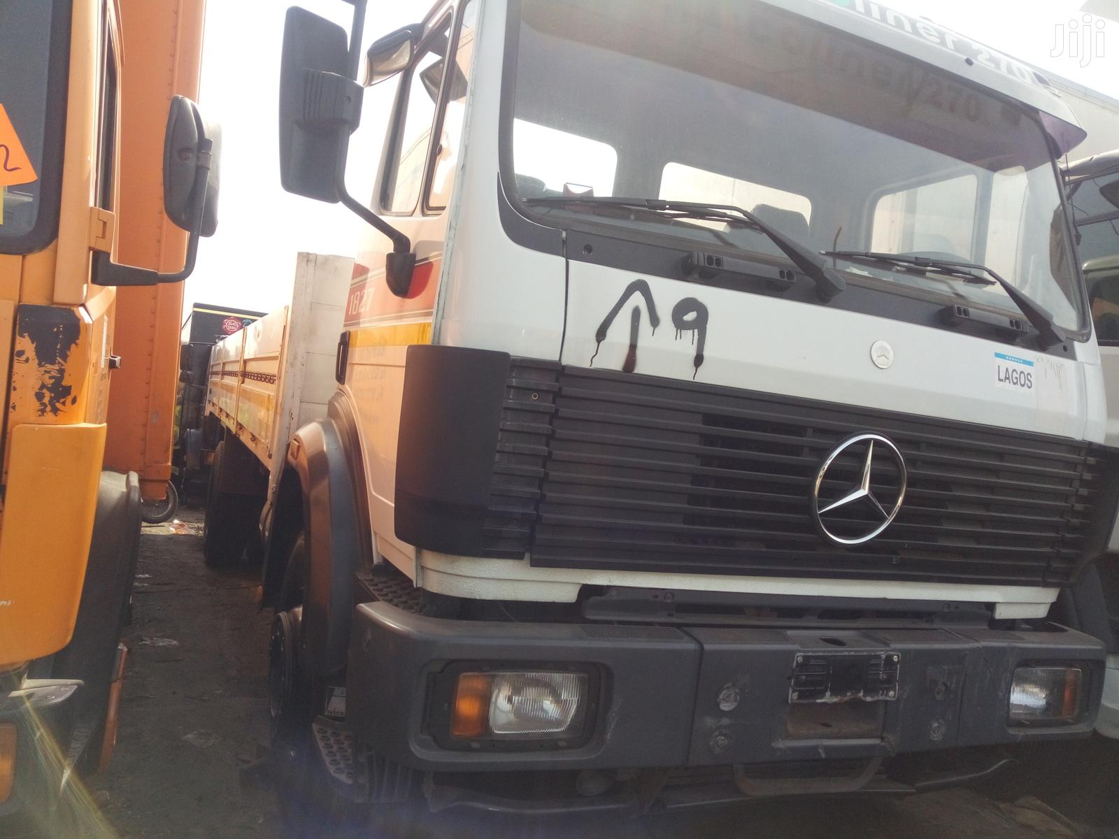 Mercedes-Benz 1820 2007 White | Trucks & Trailers for sale in Apapa, Lagos State, Nigeria