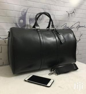 Mont Black Leather Handcarry Bag Now in Store at Mendylouis | Bags for sale in Lagos State, Lagos Island (Eko)