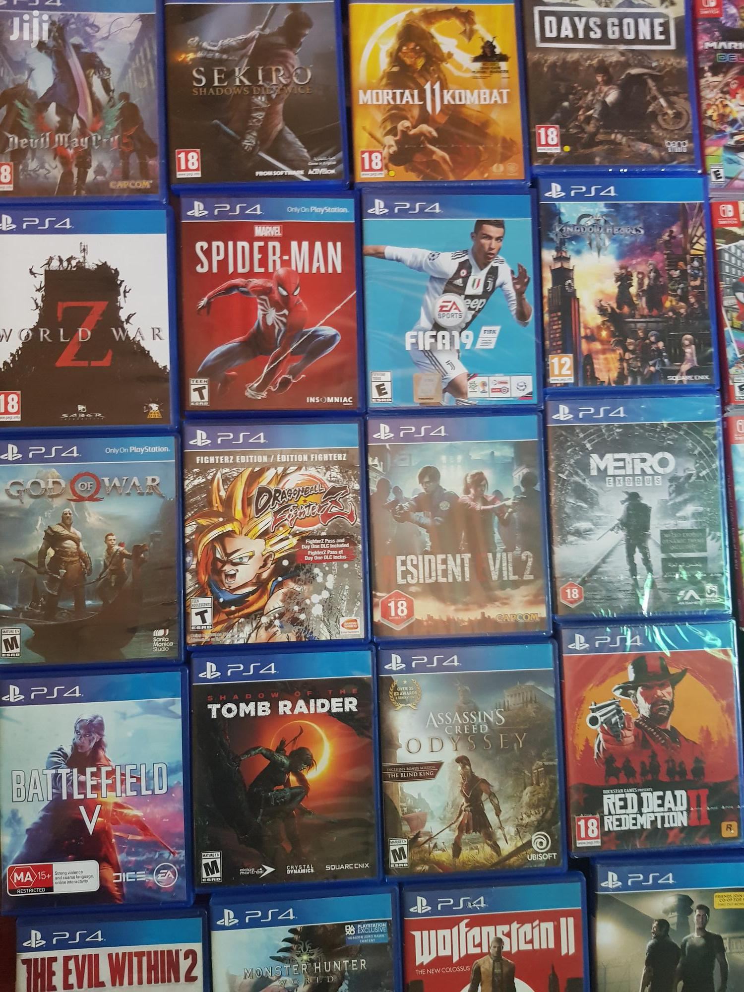 A List Ps4 Playstation 4 Games Selection