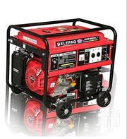 Elepaq 7.5 Kva Key Start Generator Ec18000cxs 100%Copper | Electrical Equipment for sale in Anambra State, Nnewi