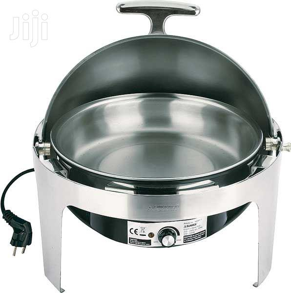 Electric Round Chaffing Dishes | Restaurant & Catering Equipment for sale in Lagos Island (Eko), Lagos State, Nigeria