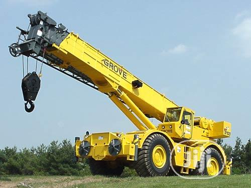 Archive: Crane Available For Lease/ Hiring At Port Harcourt.
