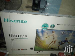 75inches Hisense Led TV Smart Netfx 4k With 2 Year Warranty | TV & DVD Equipment for sale in Lagos State, Ifako-Ijaiye