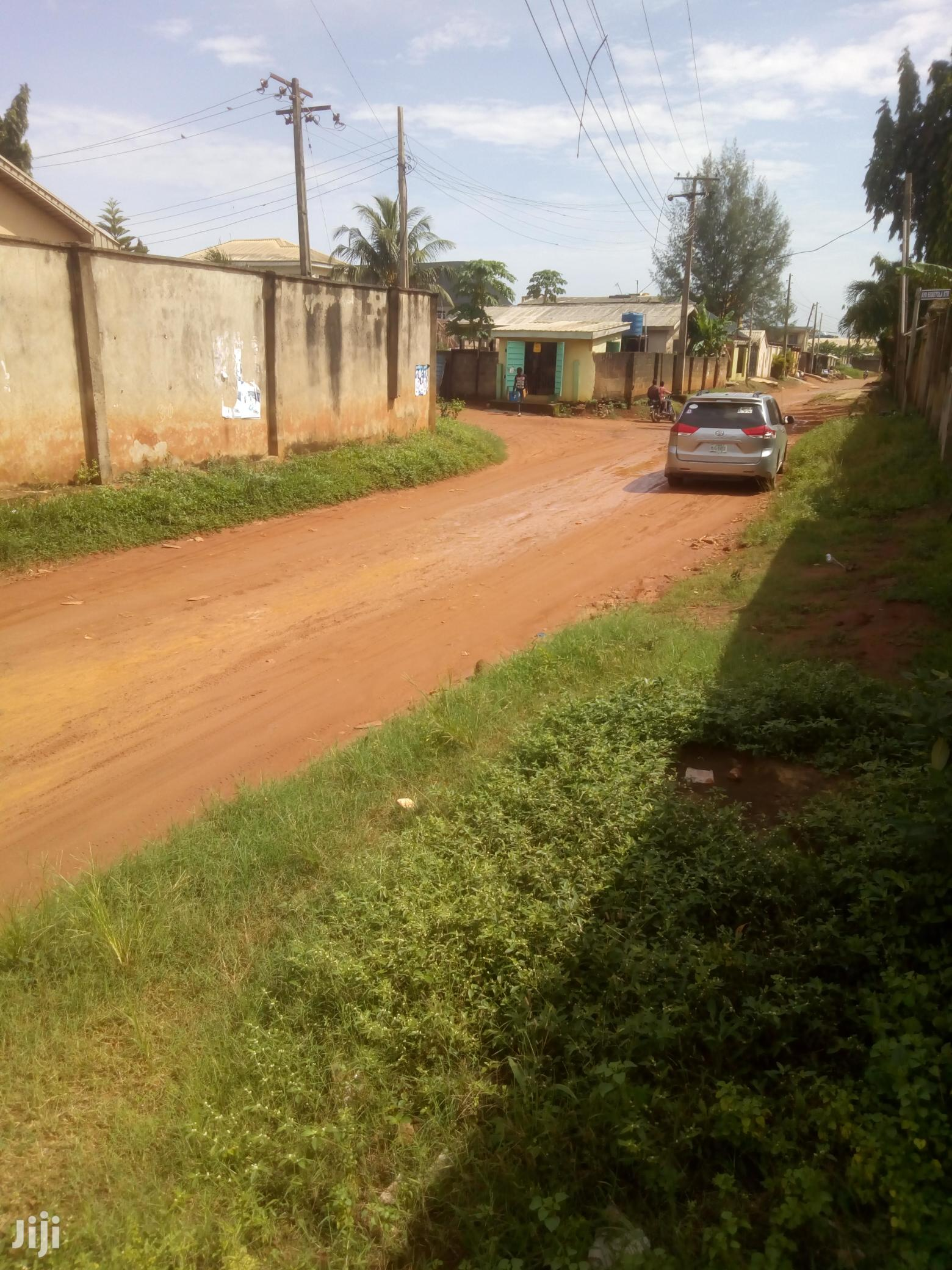 Fenced Plot Of Dry Land At Unique Estate Baruwa For Rent.   Land & Plots for Rent for sale in Alimosho, Lagos State, Nigeria