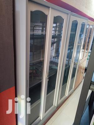 Imported High Quality Full Glass Metal Partitions Shelves | Furniture for sale in Lagos State, Lekki