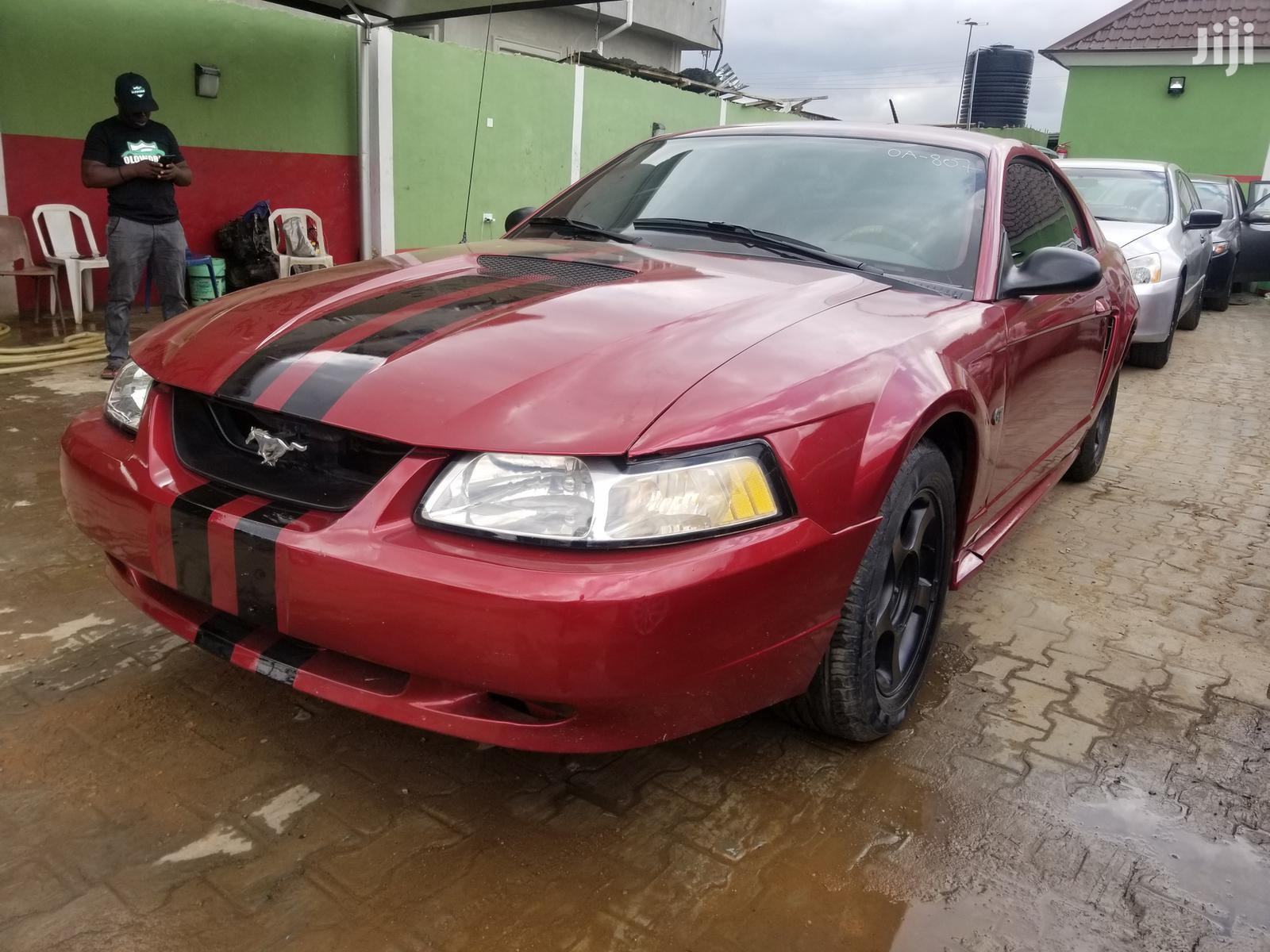 Ford Mustang 2004 Red | Cars for sale in Akure, Ondo State, Nigeria