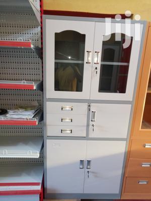 Imported Executive Classic Half Glass Metal Shelves | Furniture for sale in Lagos State, Lagos Island (Eko)