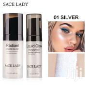 SACE LADY Face Liquid Highlighter Shimmer Glow. Delivery Anywhere | Makeup for sale in Rivers State, Port-Harcourt
