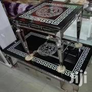 High Quality Glass Versace Design Set Of Center Table With Two Side | Furniture for sale in Lagos State, Agboyi/Ketu
