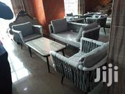 High Set of Outdoor Chair With Marble Center Table | Furniture for sale in Lagos State, Ojo