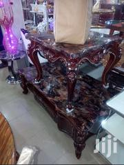 Pure Wooden Royal Center Table With 2 Side Stools | Furniture for sale in Bayelsa State, Southern Ijaw