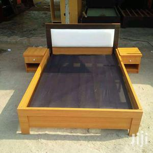 Available Bed Frame 6x6 With 2 Bedside Drawer | Furniture for sale in Lagos State, Maryland