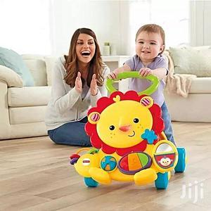 Fisher-price Baby Activity Play Walker Musical Lion   Children's Gear & Safety for sale in Lagos State, Ikeja