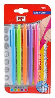 MP 5 Pack Easy Grip Coloured Pens | Stationery for sale in Lagos State, Surulere