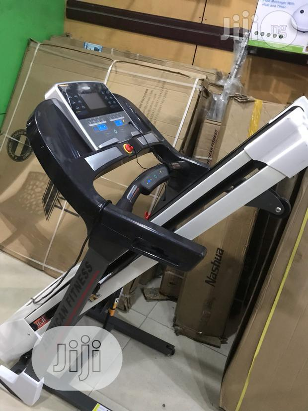 2.5hp Treadmill With Massager and Incline (American Fitness)