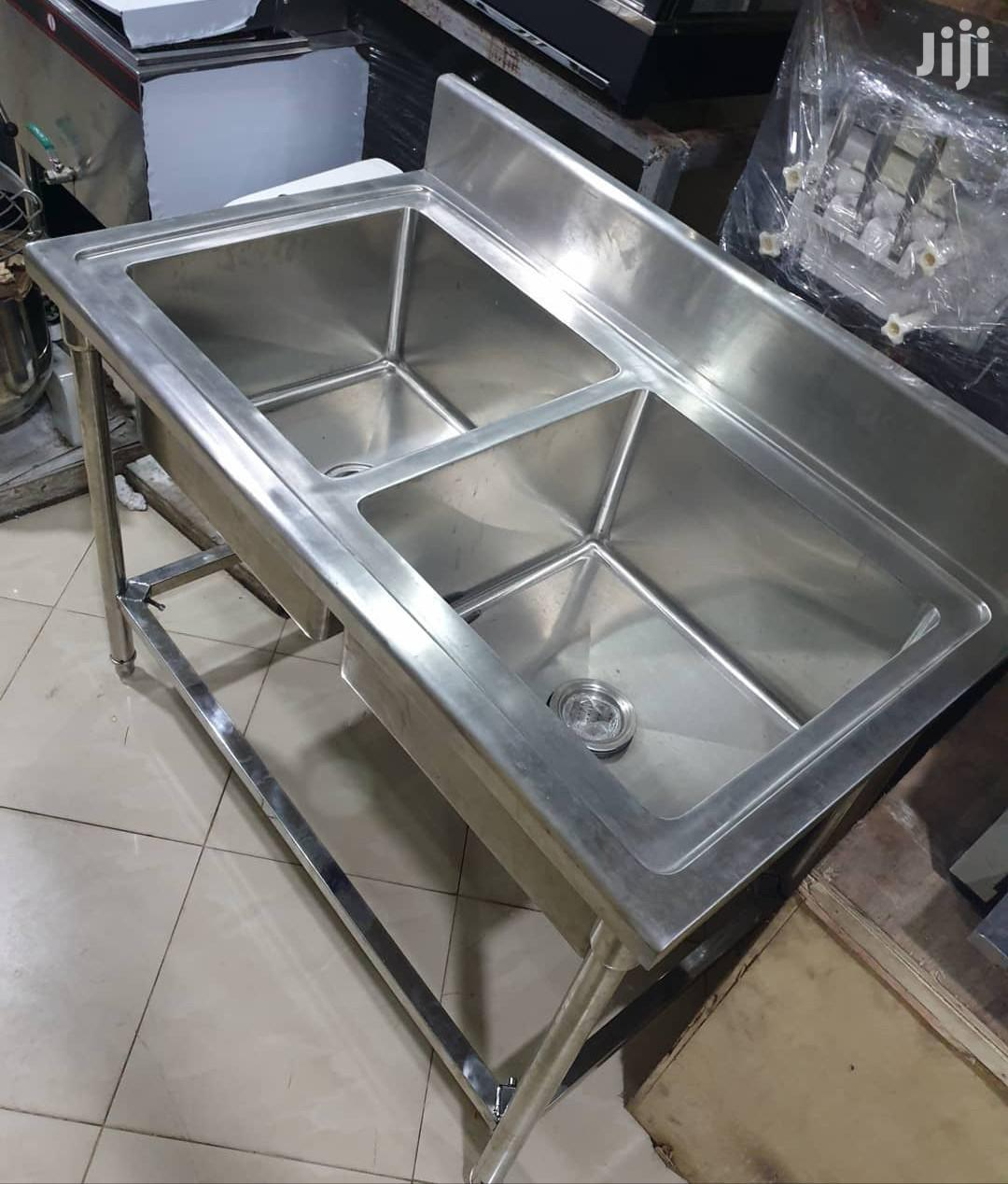 Archive: Stainless Steel Sink Double Bowl