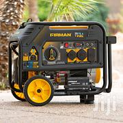 Firman Electric Start Gas or Propane Dual Fuel Portable Generator | Electrical Equipment for sale in Lagos State, Ikeja