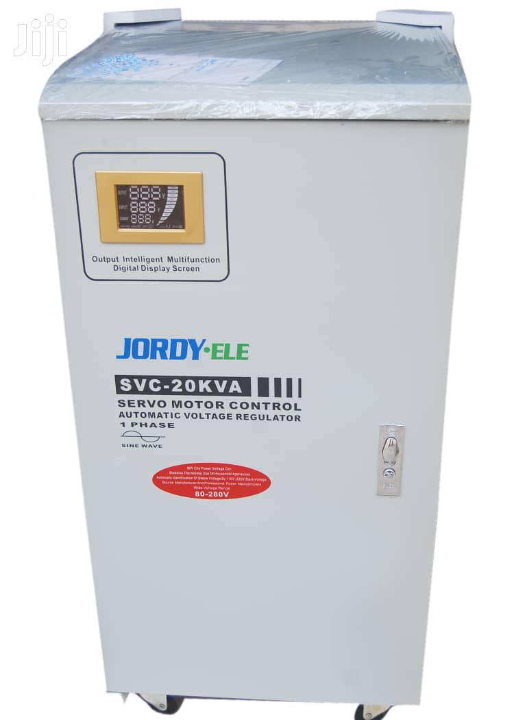 20KVA Single Phase Servo Central Industrial Stabilizer (80v-280v)