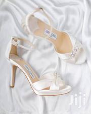 Ladies High Heel White Sandal | Shoes for sale in Lagos State, Ojo