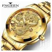 Men Luxury Fashion FNGEEN Clock Stainless Steel Wrist Watches | Watches for sale in Lagos State, Victoria Island