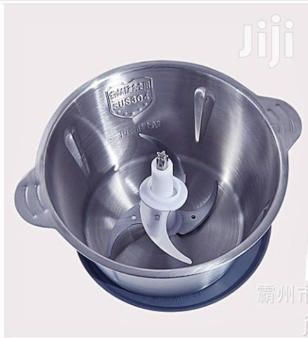 Stainless Steel Food Processor and Vegetable Grinder | Kitchen Appliances for sale in Mushin, Lagos State, Nigeria
