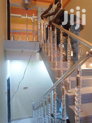 For Stainless Handrails With Glass | Building Materials for sale in Lagos State, Ikotun/Igando