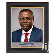 Photo Frame Of Lagos Governor 12x16 Inches   Home Accessories for sale in Lagos State, Ikeja