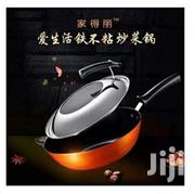 Ilife High Tech Fry Pan Nonstick Frying Anything Without Oil | Kitchen & Dining for sale in Lagos State, Mushin