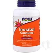 NOW Supplements, Inositol 500 Mg, 100 Veg Capsules | Vitamins & Supplements for sale in Lagos State, Ikeja