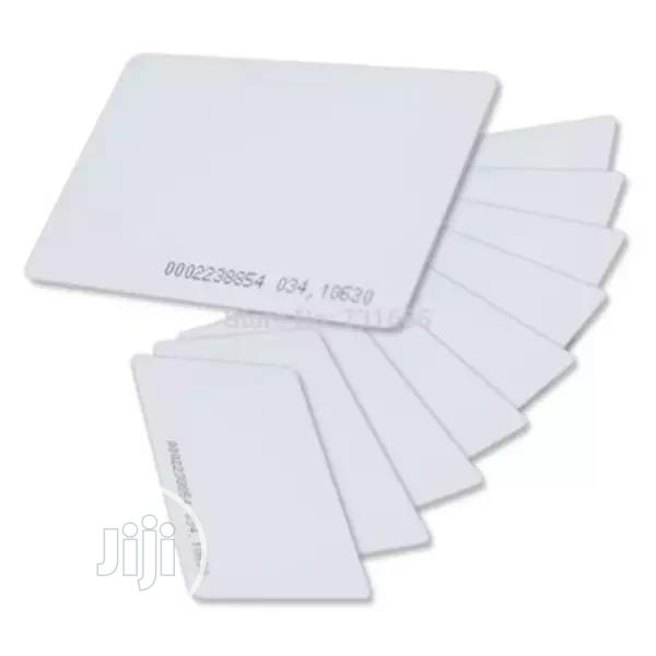 125khz 1.9mm RFID Access Proximity Card - 10 Pieces - White